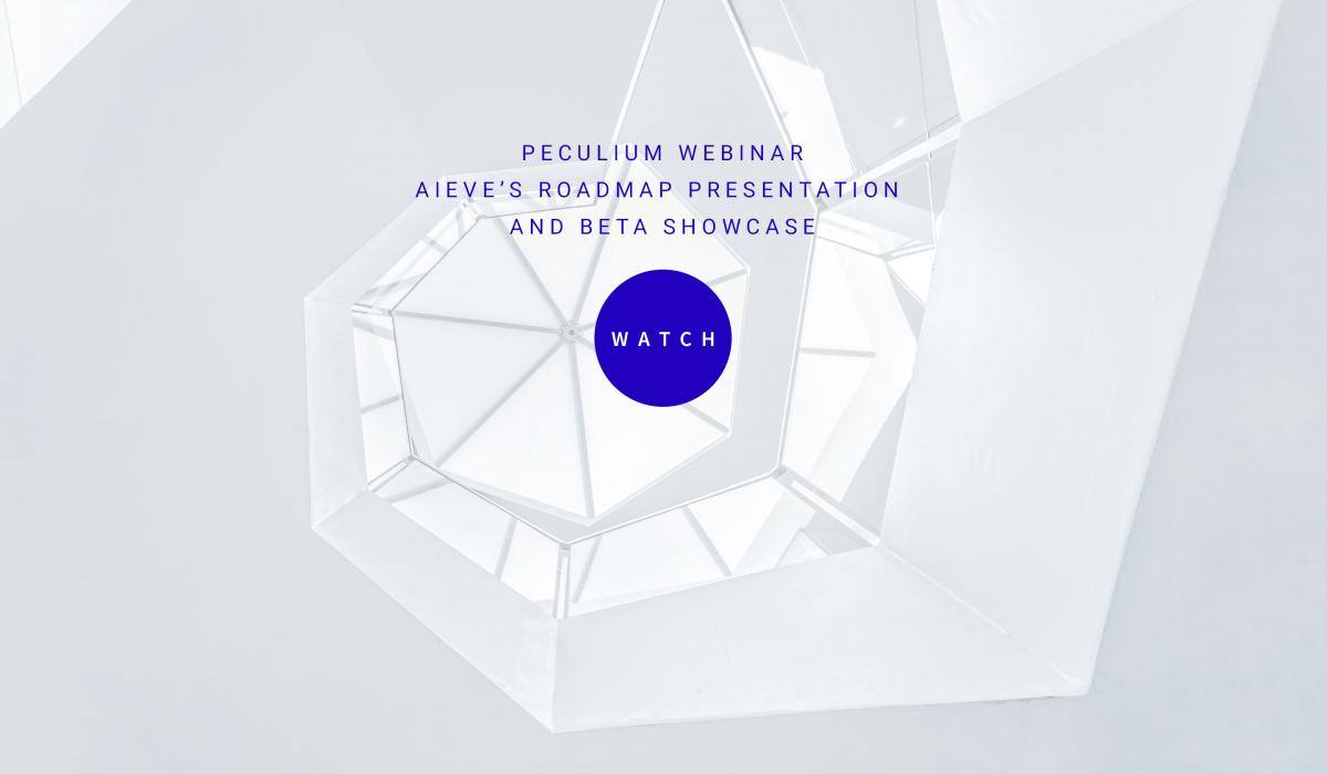 peculium webinar aieve s roadmap presentation and beta showcase