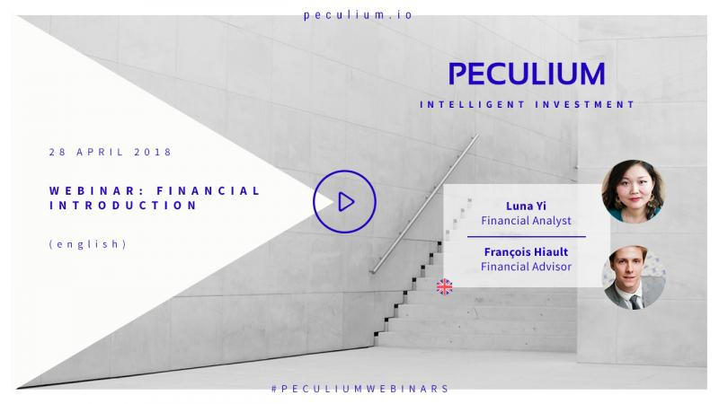 PECULIUM Webinar : Financial Introduction!