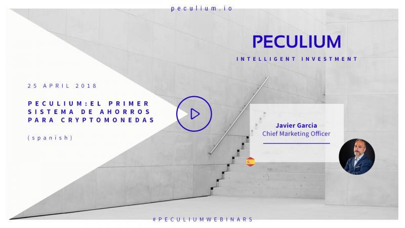 Peculium - El Primer sistem de Ahorros para cryptomonedas