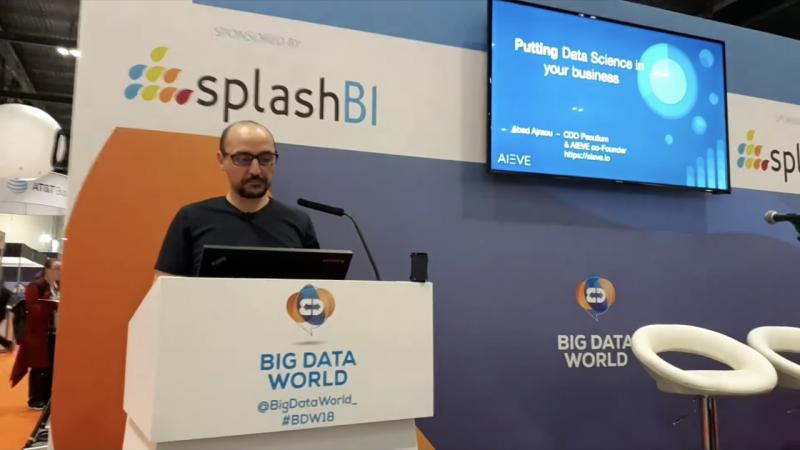 Big Data World Conference - Data Science. Abed Ajraou CDO Peculium, co-Founder AIEVE