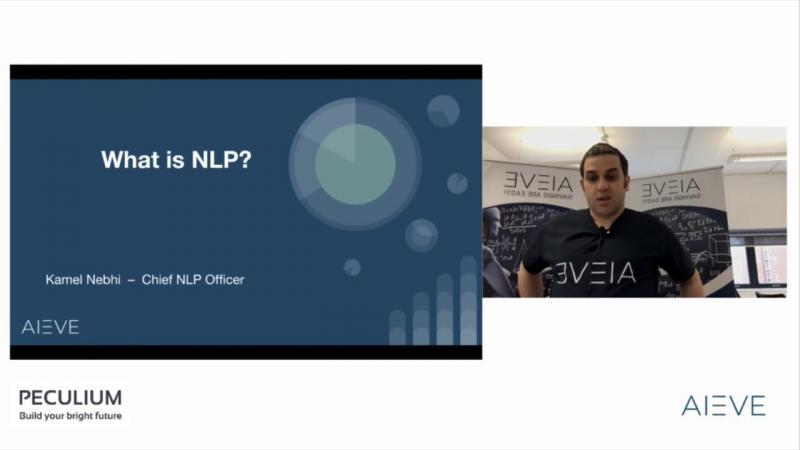 NLP Webinar AIEVE/Peculium