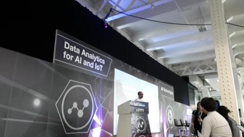 Conference in AI Expo London - Removing frustrations in AI